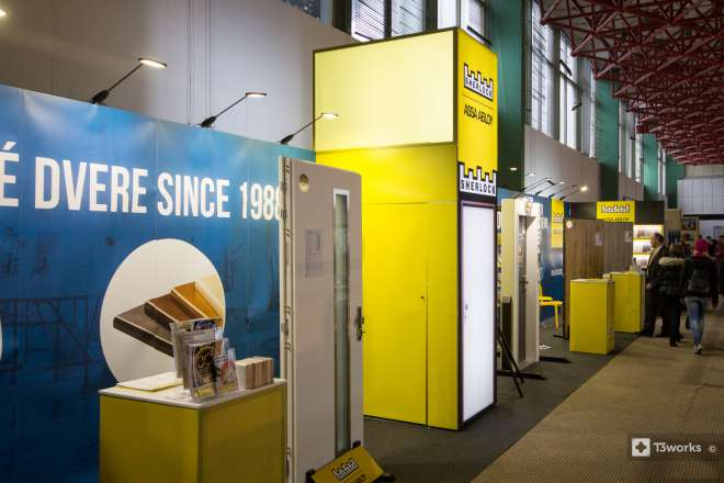 20 meters long Exhibition stand Sherlock