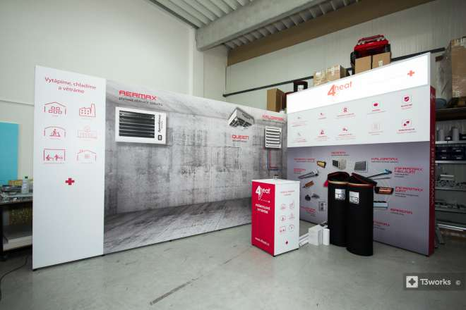 Exhibition stand 5x3m