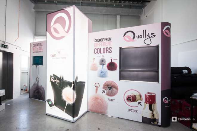 Exhibition stand 5,5x1,3m