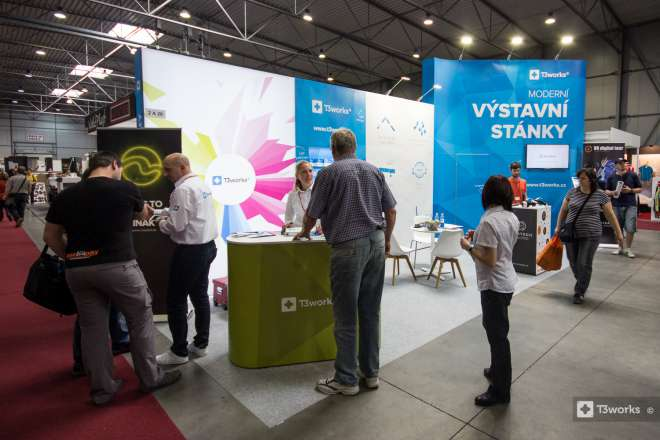 Exhibition Stand T3works - Polygraf 2016