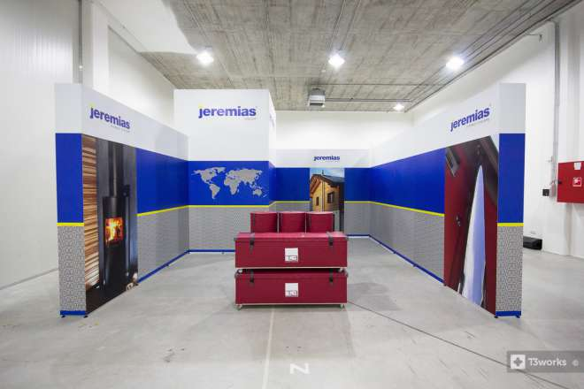 Exhibition stand 5x5m