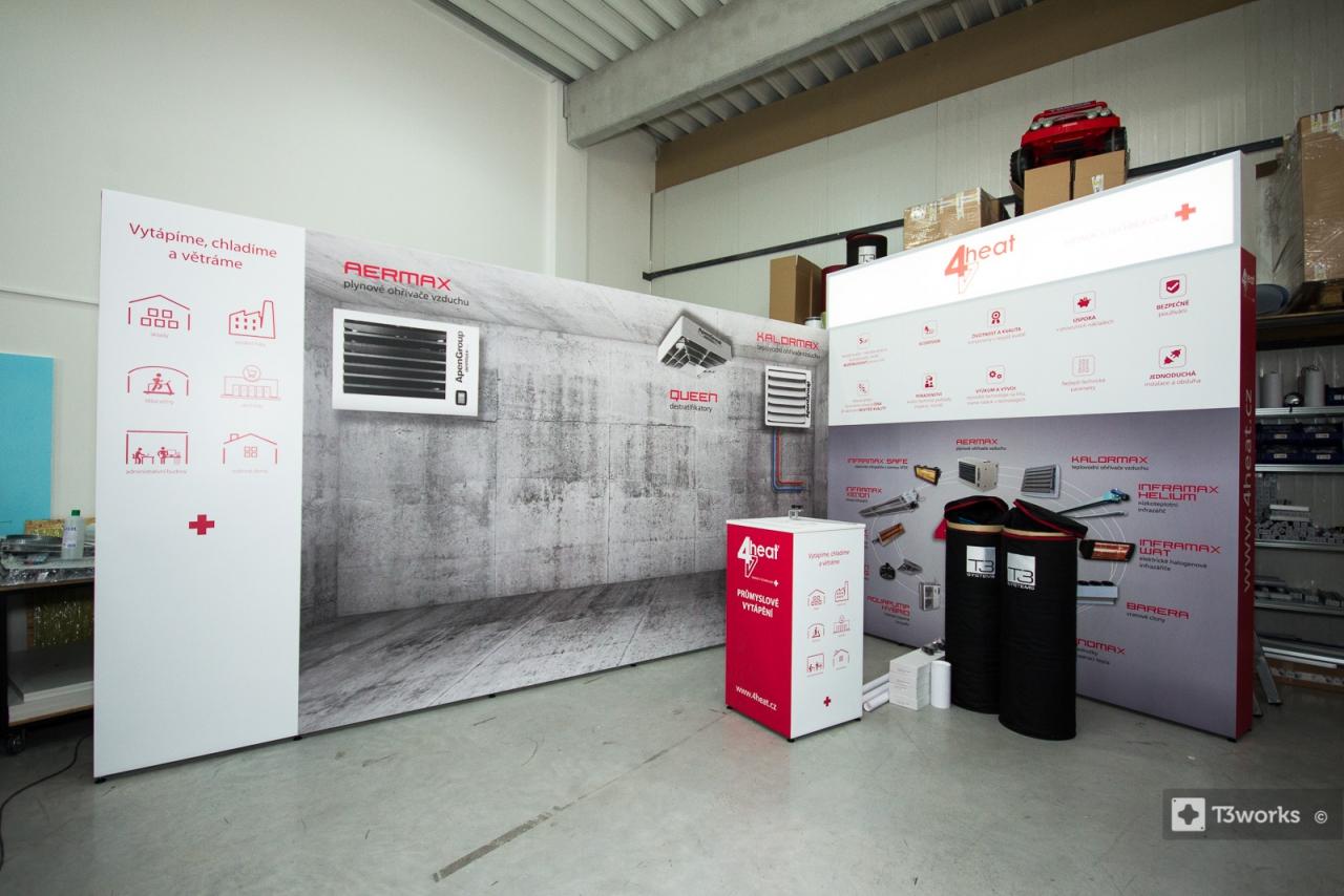Modern Exhibition Stand Goal : T works modern exhibition stands